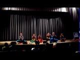 Танец Пушпанджали - Коллектив Накшатра - концерт на Пуджу Дивали в Киеве 12.11.2012